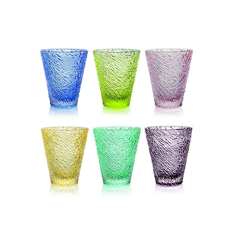 set 6 bicchieri ivv iroko
