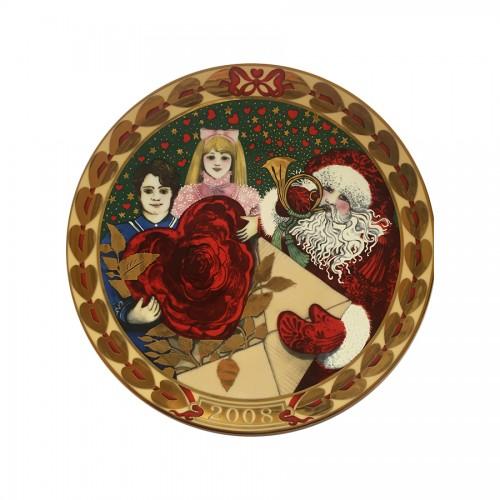 Piatto Cuori di Natale 2009