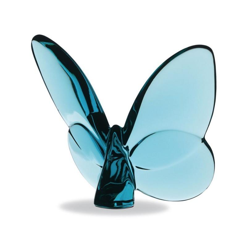 Papillon turchese, farfalla Baccarat
