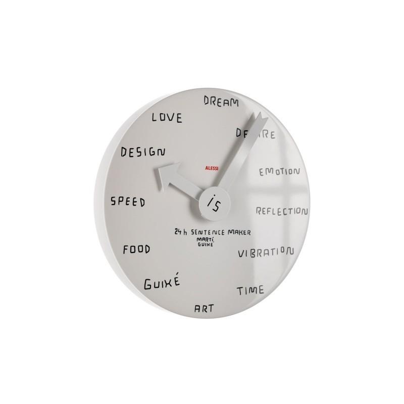 24h Sentence Maker, orologio da parete
