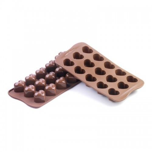 Stampo per cioccolato Easy Choc Cuori