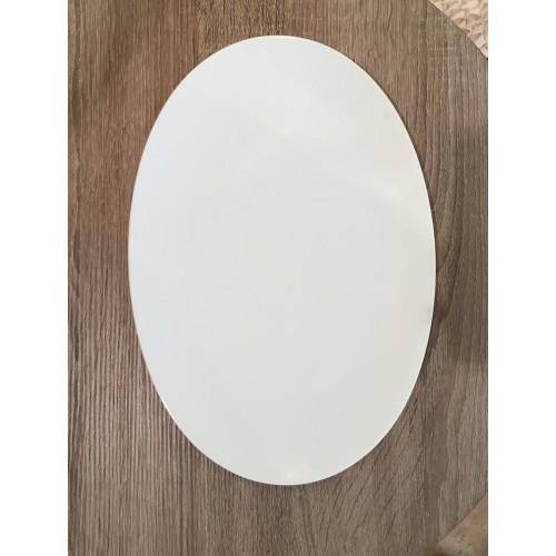 Piatto ovale TAC bianco